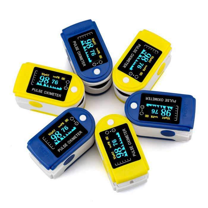 LED Finger Pulse Oximeter