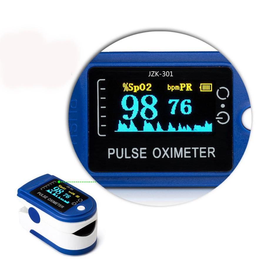 LED Finger Pulse Oximeter