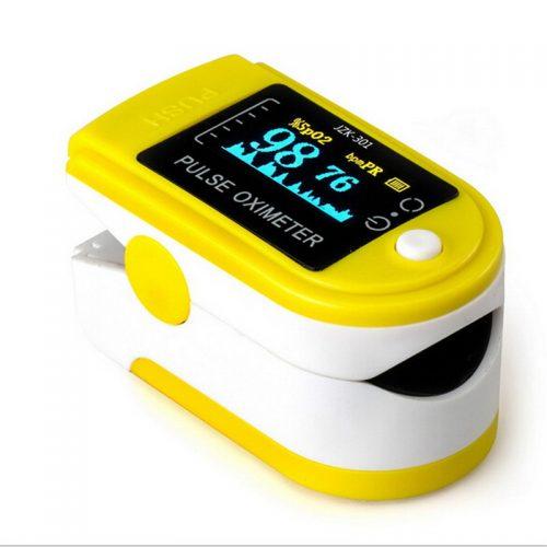 LED Finger Pulse Oximeter Heart Rate Monitor