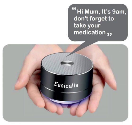 Easicalls device